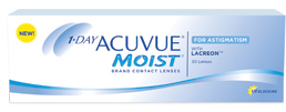 1-Day Acuvue Moist for Astigmatism Contact Lenses