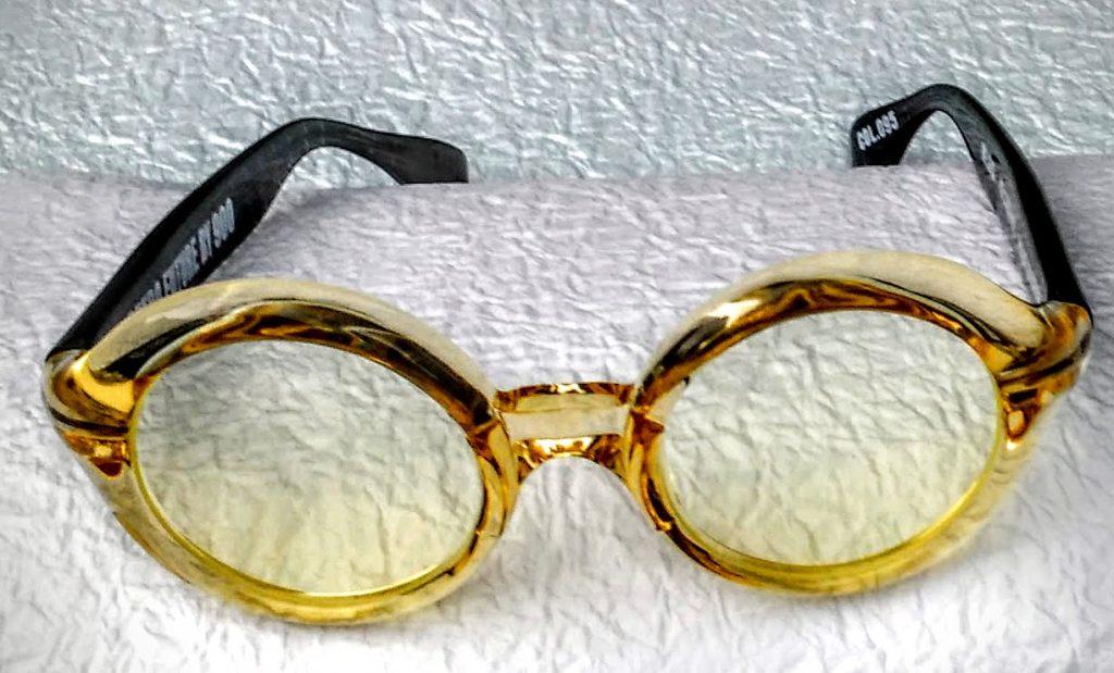 Round Funky Glasses Frame
