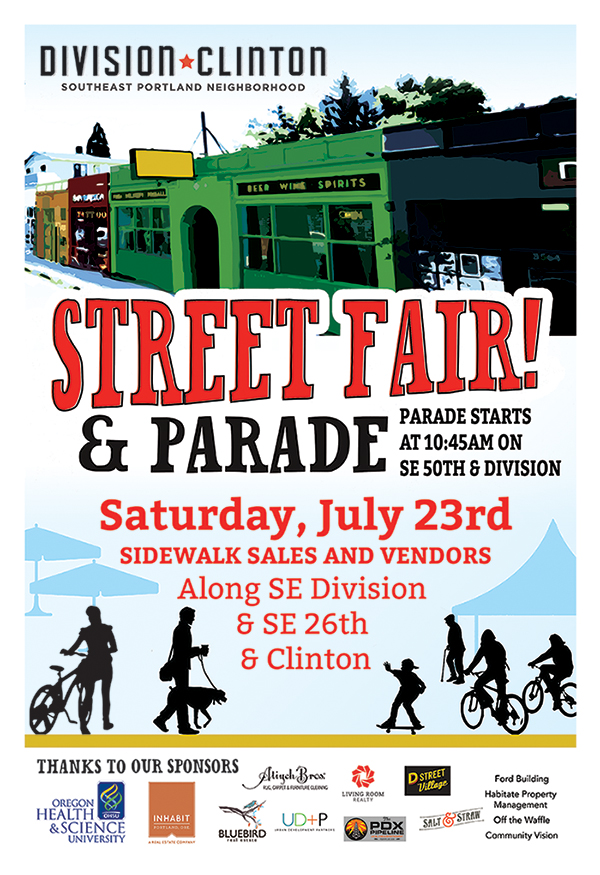 Upcoming Events in SE Portland: Division Clinton Street Fair and Bike to Shop